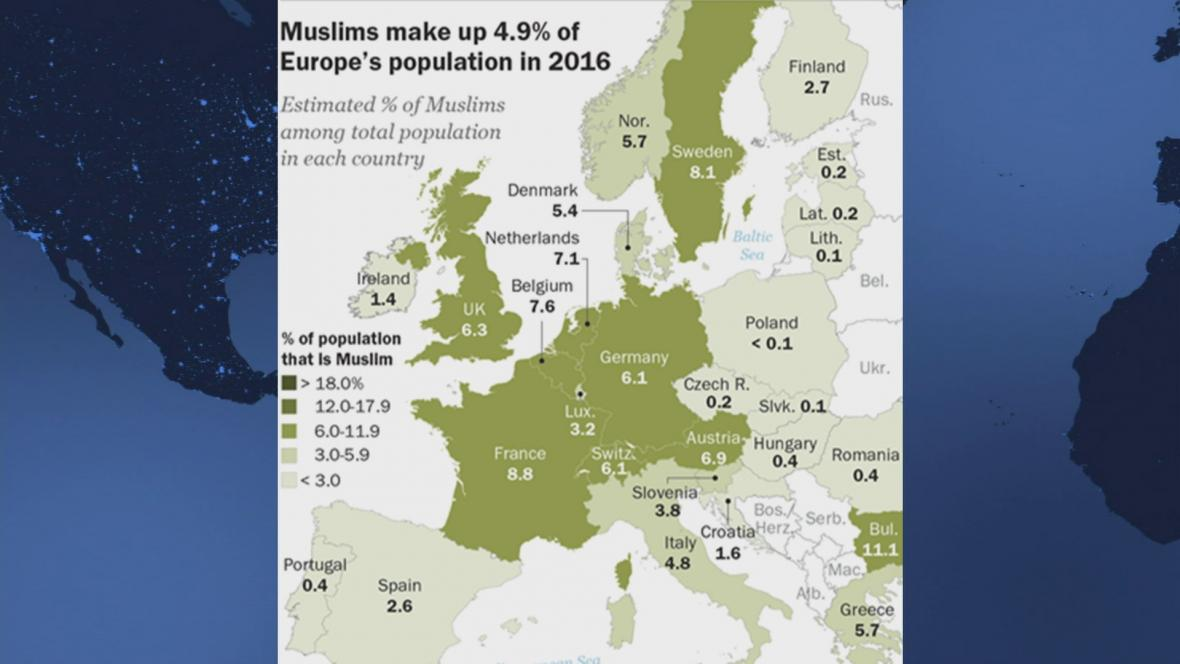 Muslimové v Evropě
