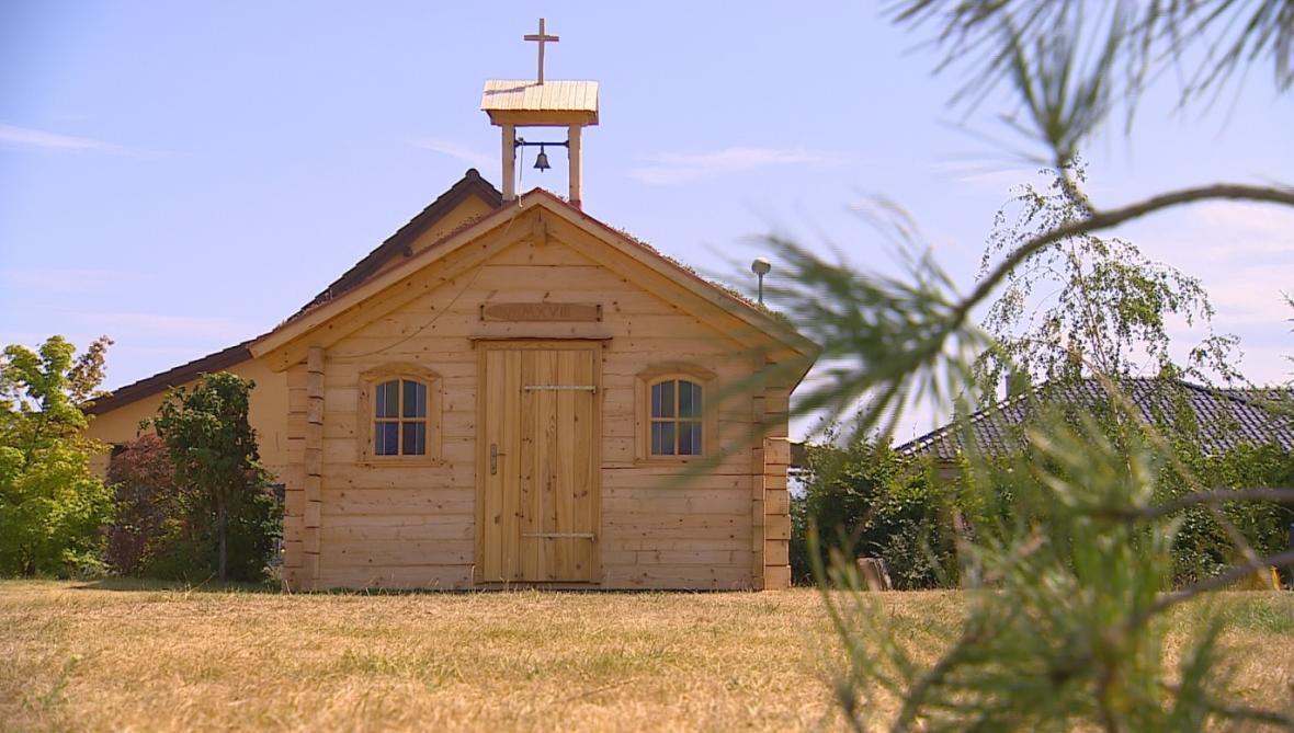 Nová kaple v Krasové