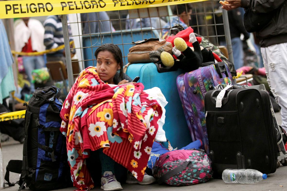 Venezuelští uprchlíci