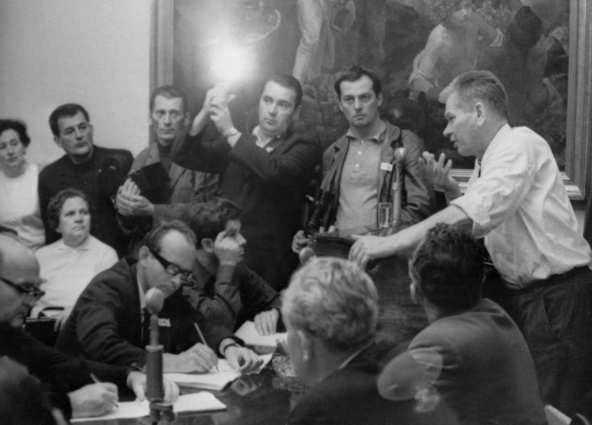 Jednání Národního shromáždění po návratu Josefa Smrkovského z Moskvy, srpen 1968