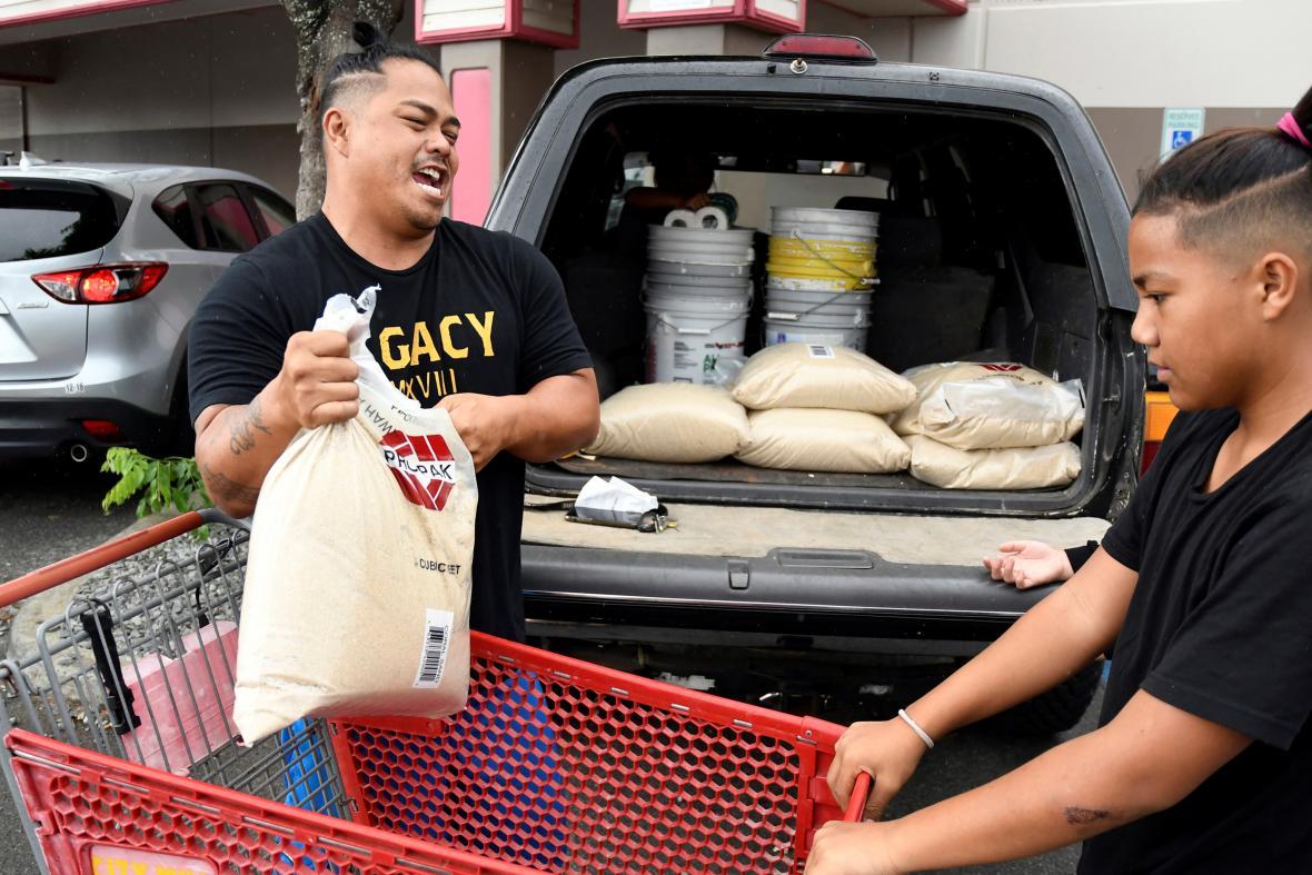 Obyvatelé Havaje se připravují na hurikán