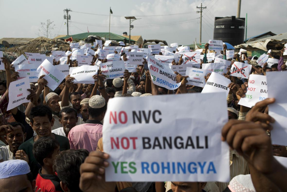 Rohingský protest