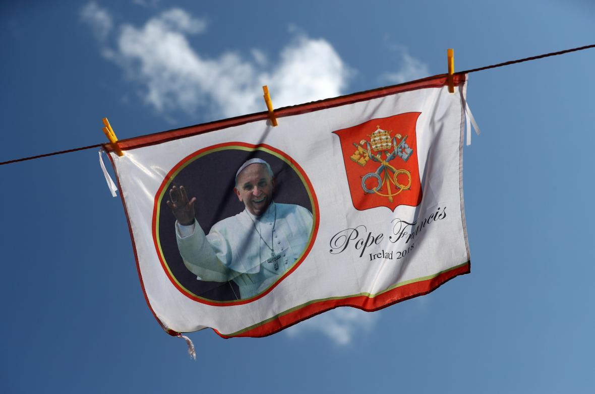 Irsko uvítalo papeže Františka