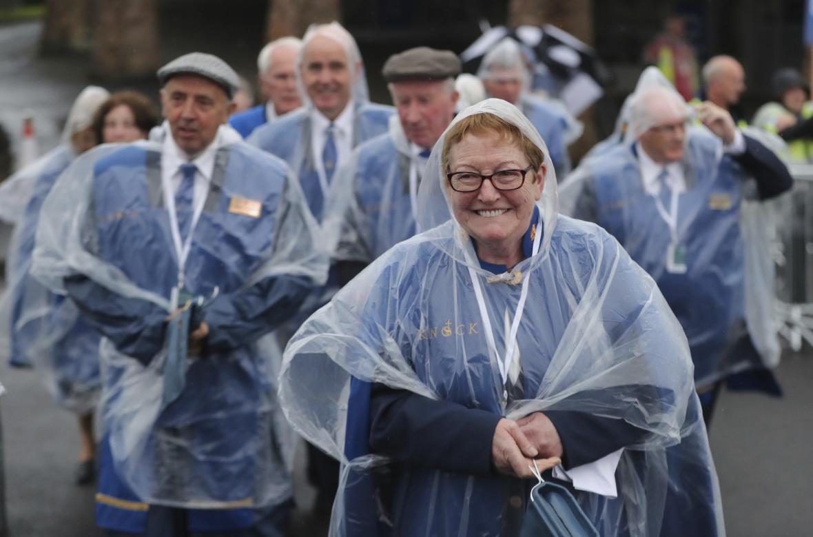 Irské nadšení nezchladil ani déšť
