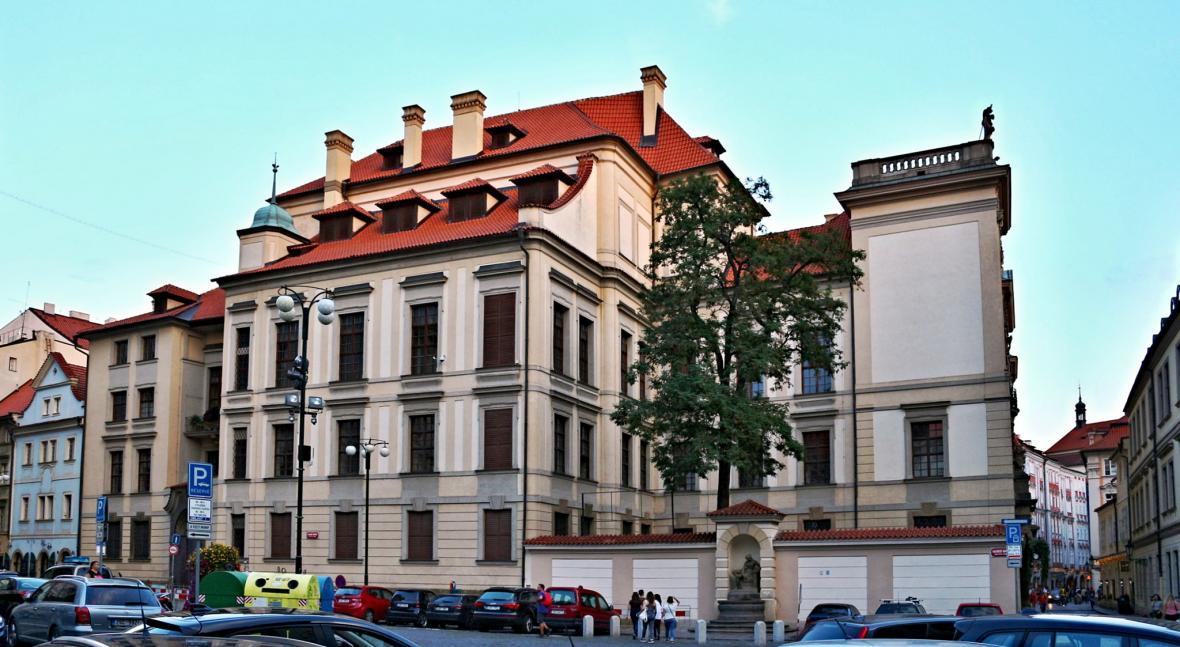 Clam Gallasův palác na Mariánském náměstí