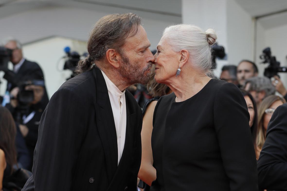 Franco Nero a Vanessa Redgraveová