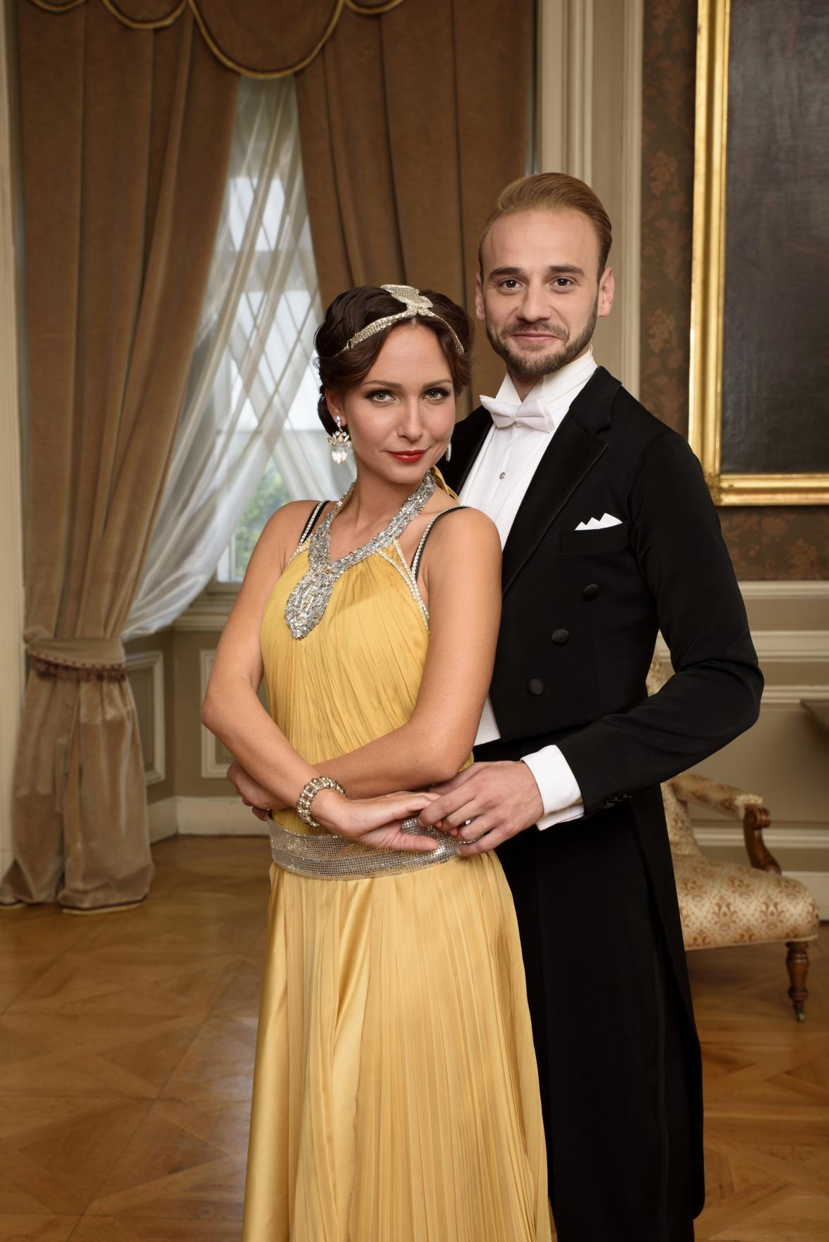 StarDance IX: herečka Veronika Arichteva a Michal Necpál