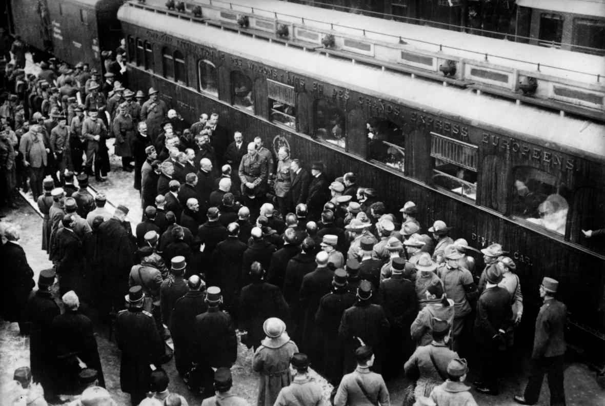 Příjezd Tomáše Garrigue Masaryka do Československa v roce 1918
