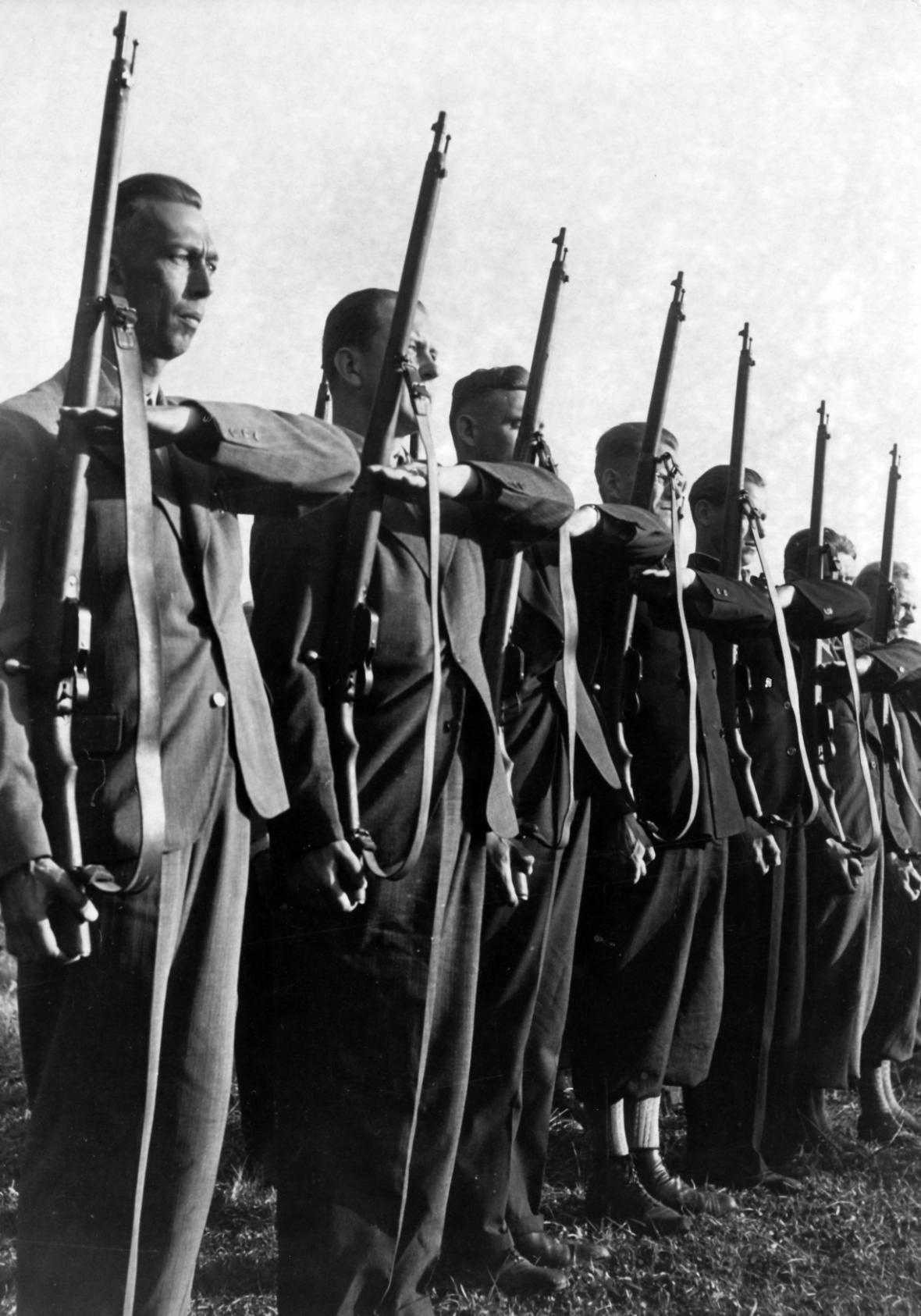 Členové sudetoněmeckých Freikorps
