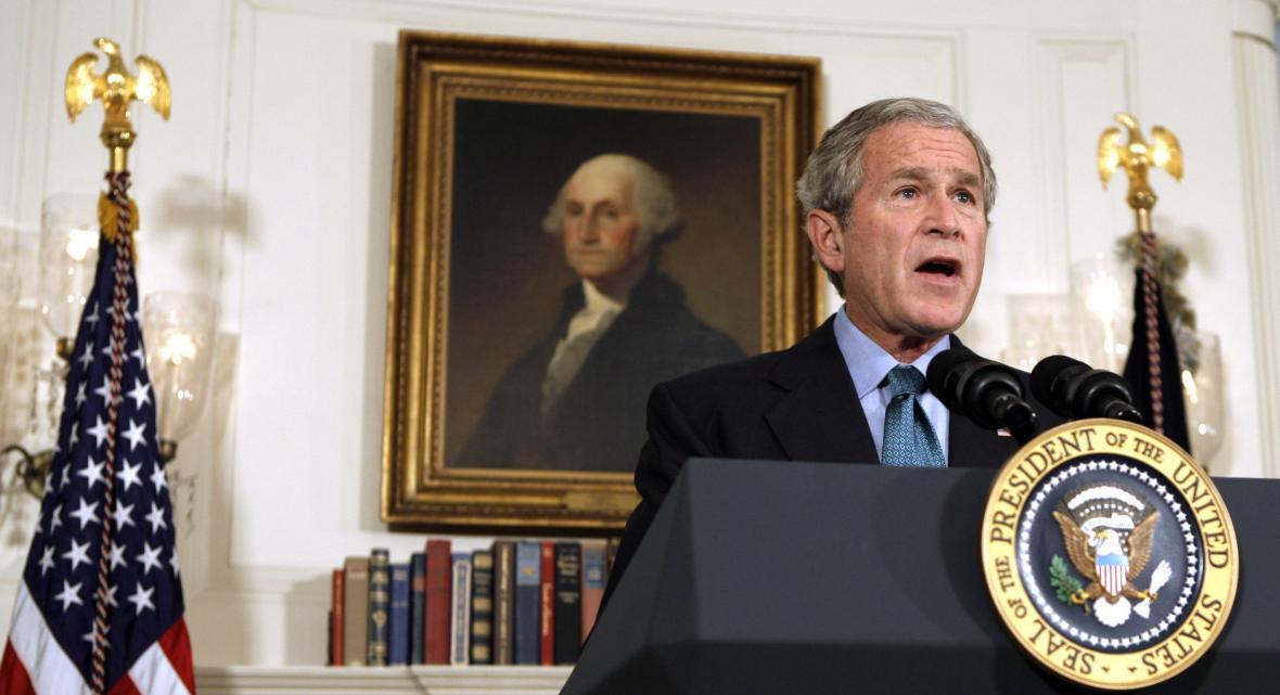 Americký prezident George Bush na snímku ze 30. září 2008