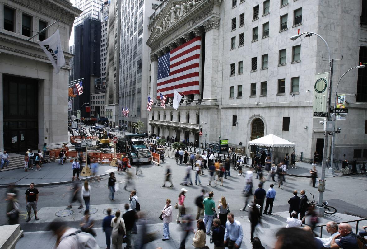 Centrum amerického finančnictví Wall Street
