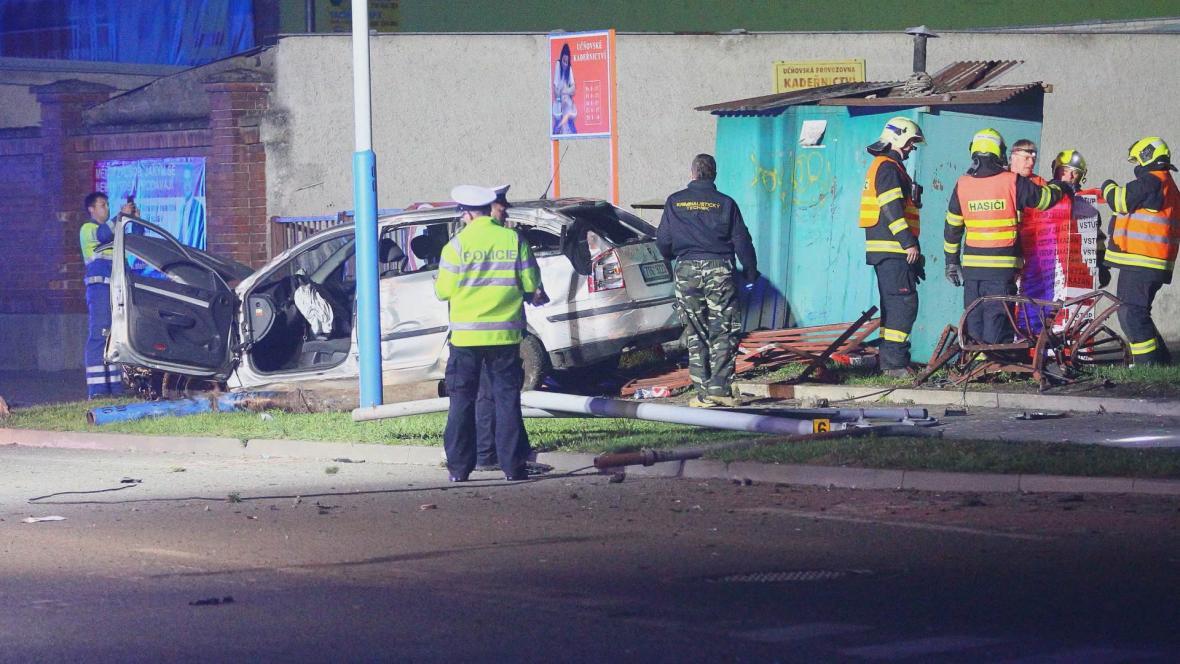 Fotografie, kterou pořídil svědek nehody