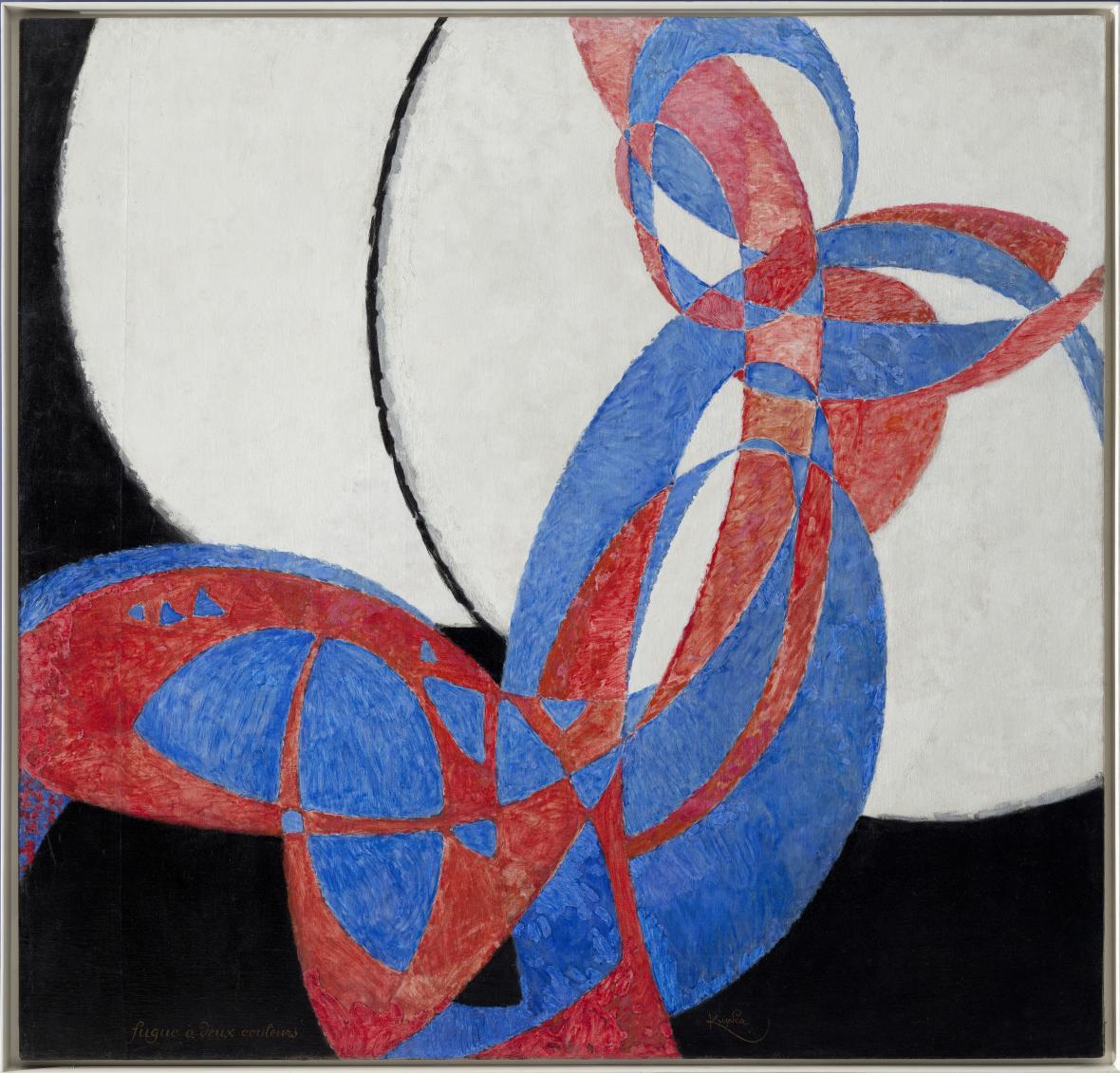 František Kupka / Amorfa. Dvojbarevná fuga, 1912