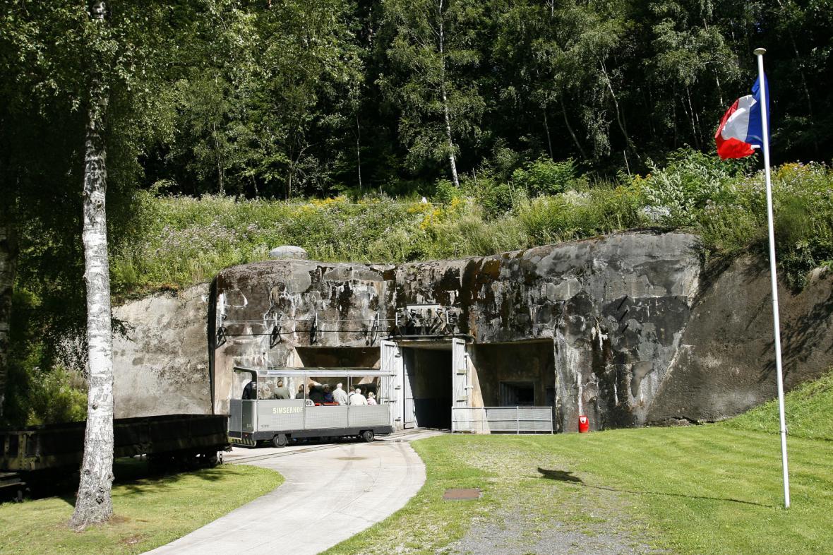 Fort Simserhof na Maginotově linii