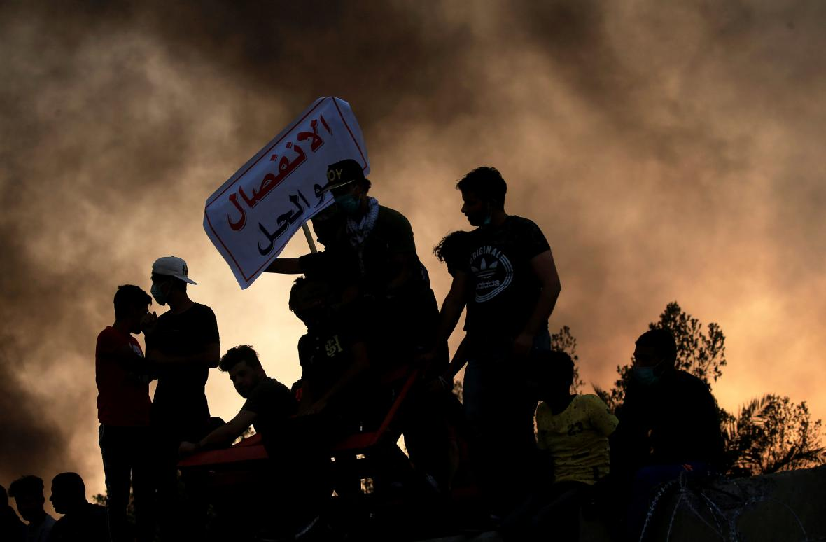 Nepokoje v irácké Basře