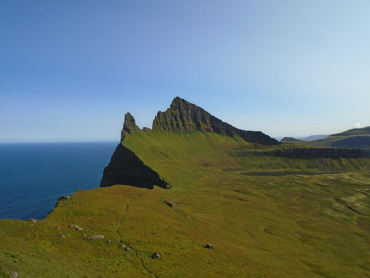 Islandská přírodní rezervace Hornstrandir