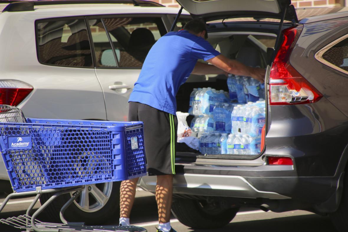 Příprava na hurikán Florence