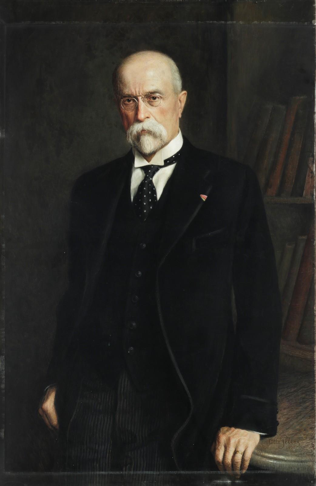 Otto Peters / portrét T. G. Masaryka, 1931