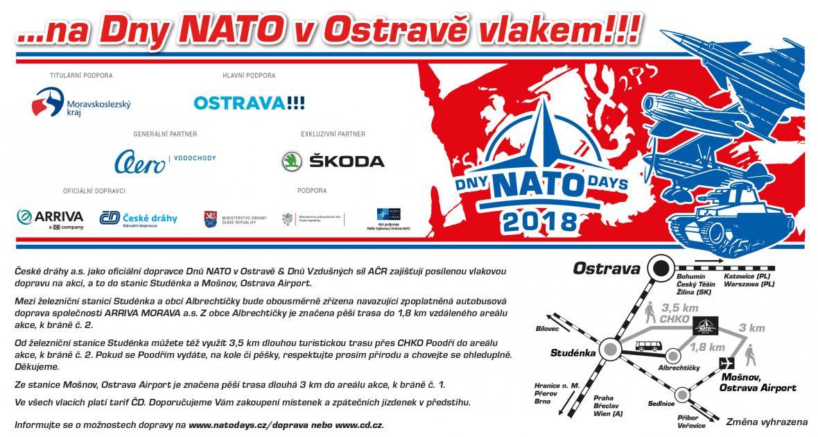 Na Dny NATO vlakem