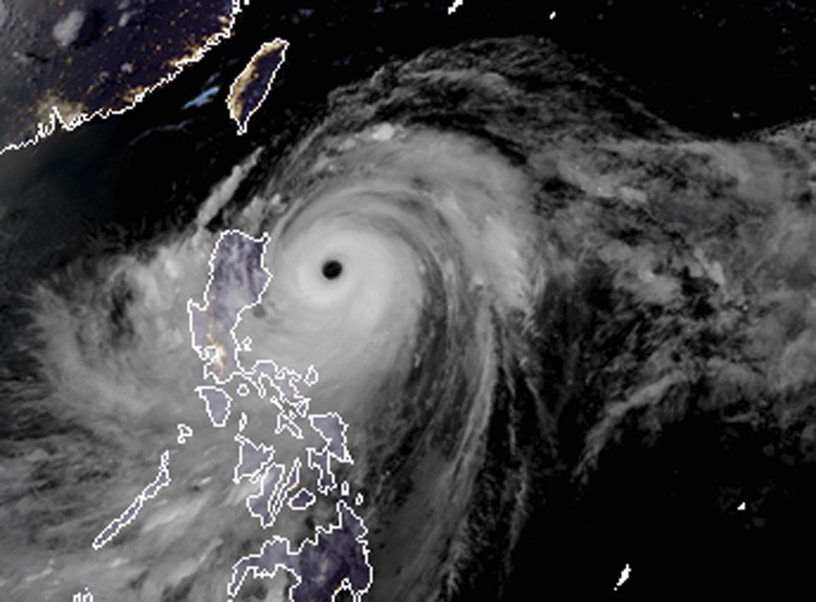 Na Filipíny udeřil supertajfun