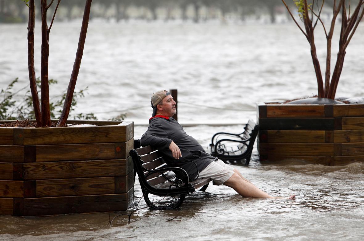 Záplavy ve severokarolinském Wilmingtonu