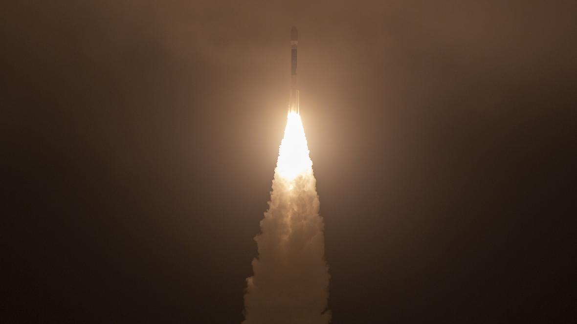 Start rakety se satelitem ICESat-2