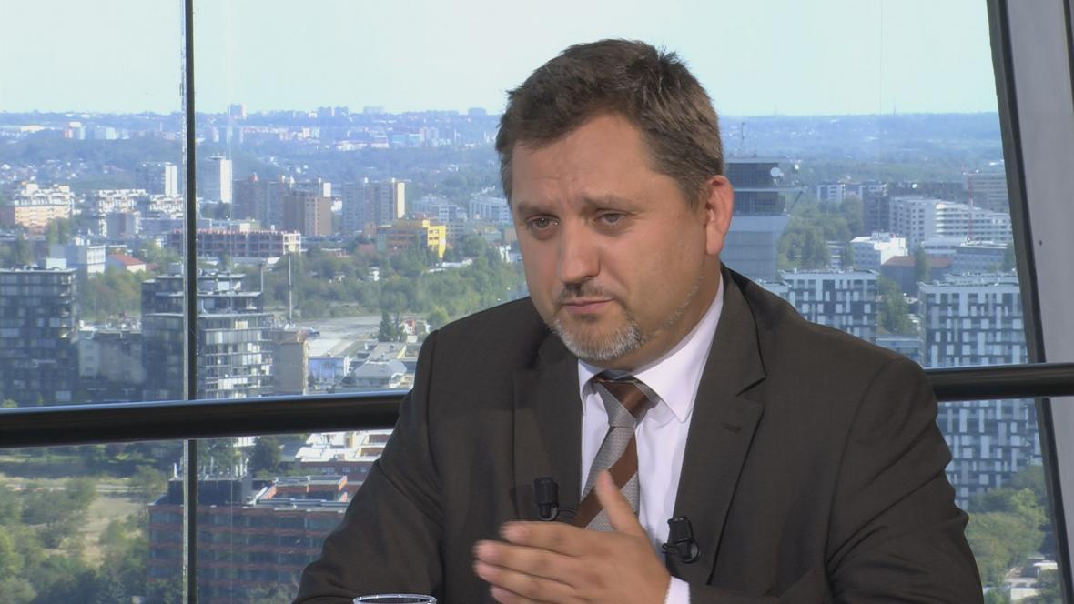 Viceprezident Svazu průmyslu a dopravy Jan Rafaj