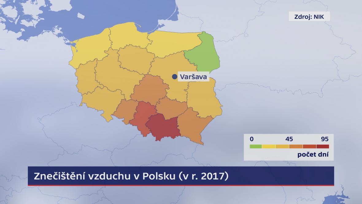 Znečištění vzduchu v Polsku