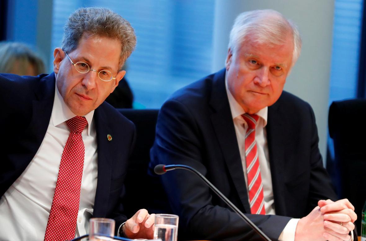 Hans-Georg Maassen a Horst Seehofer