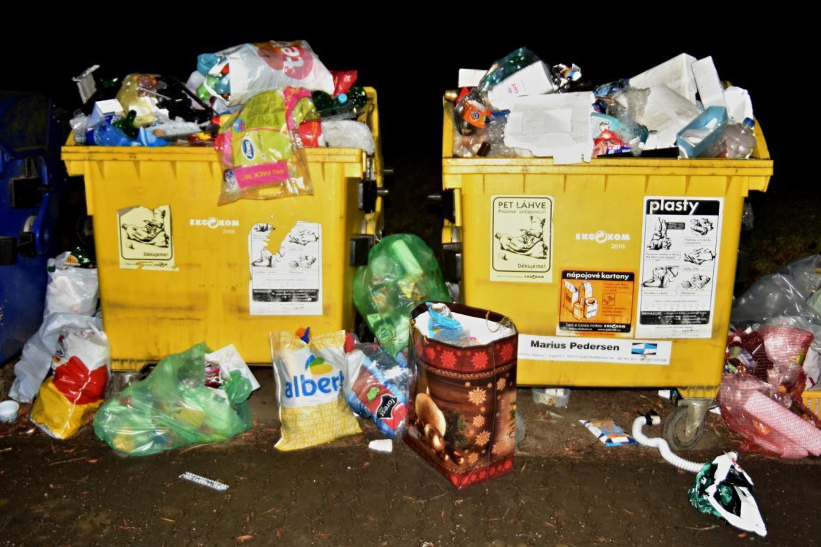 Obce mají na starost i nakládání s odpady, včetně výše poplatků za odvoz a systému třídění