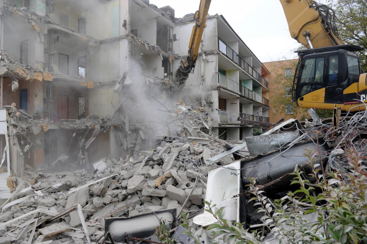 Demolice domů v roce 2014