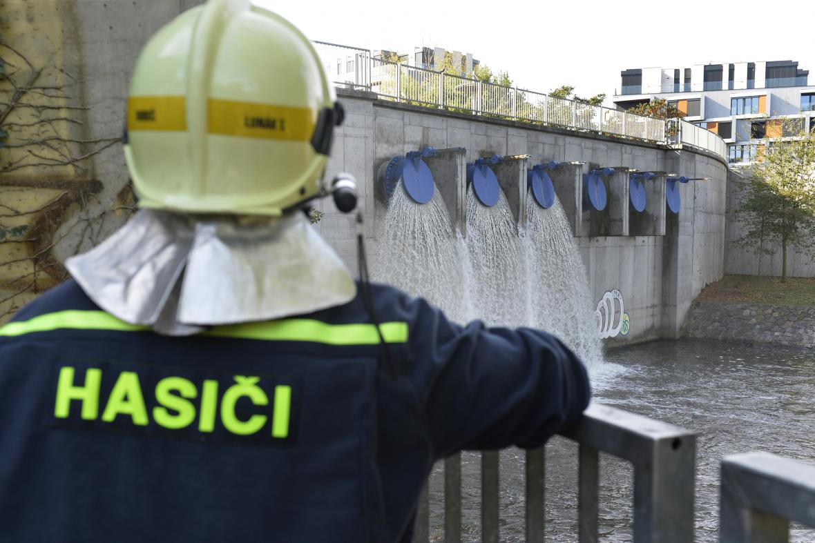Pražské protipovodňové cvičení v Libni a Karlíně (2018)