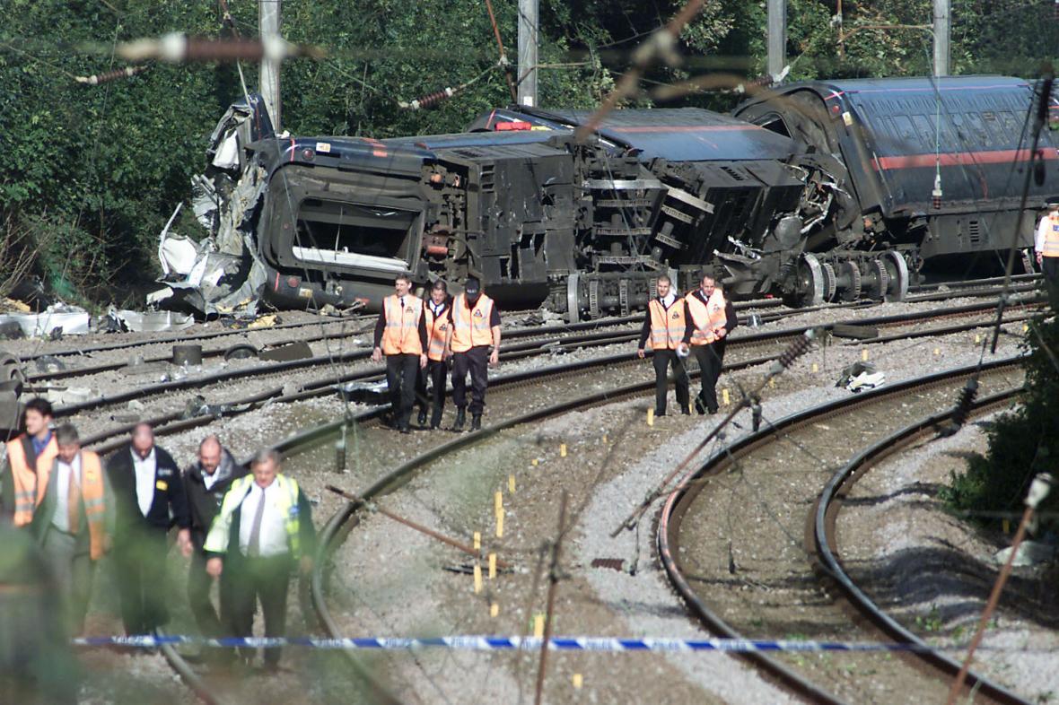 Nehoda u Hatfieldu