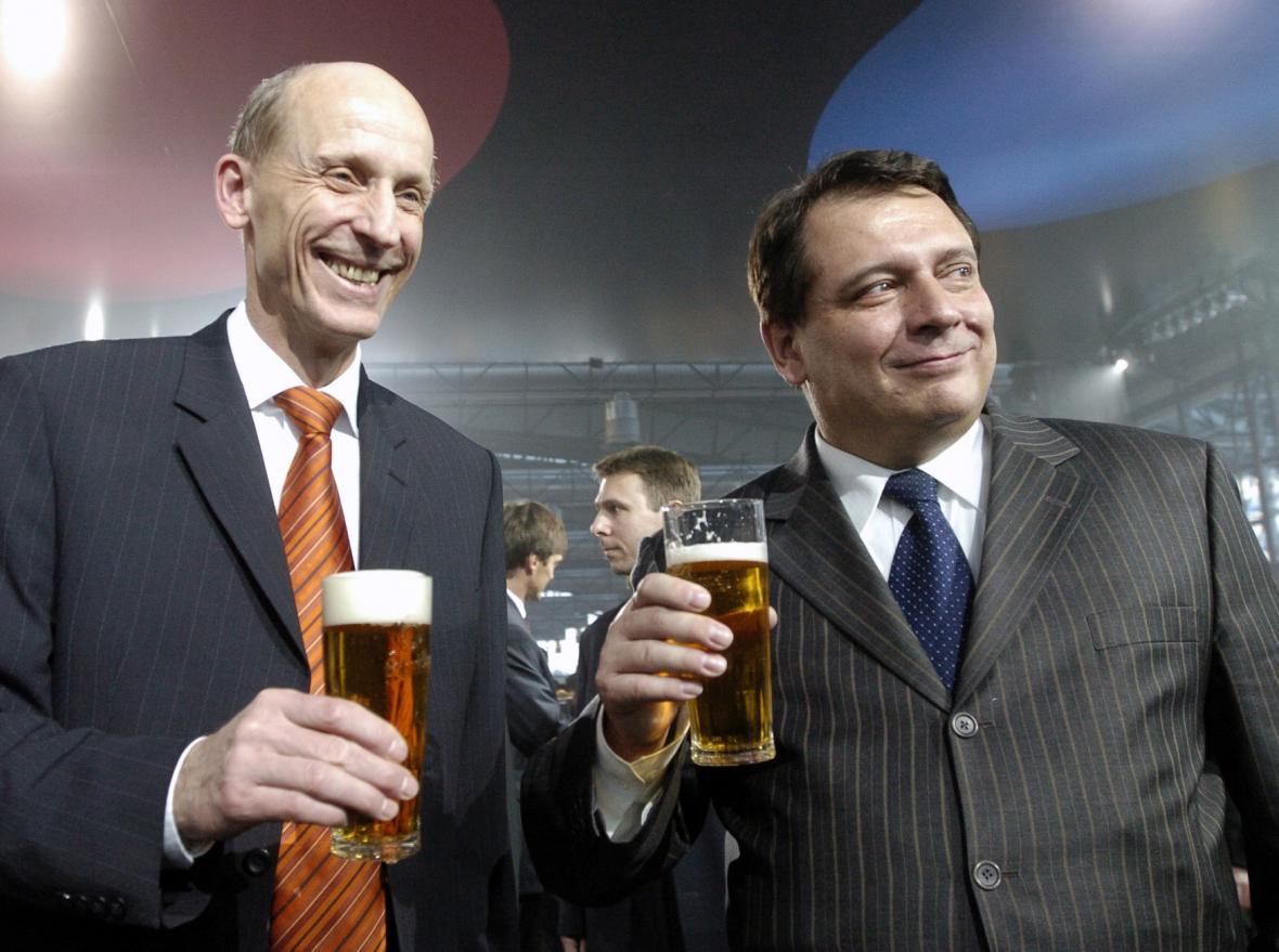 Milan Šimonovský a Jiří Paroubek