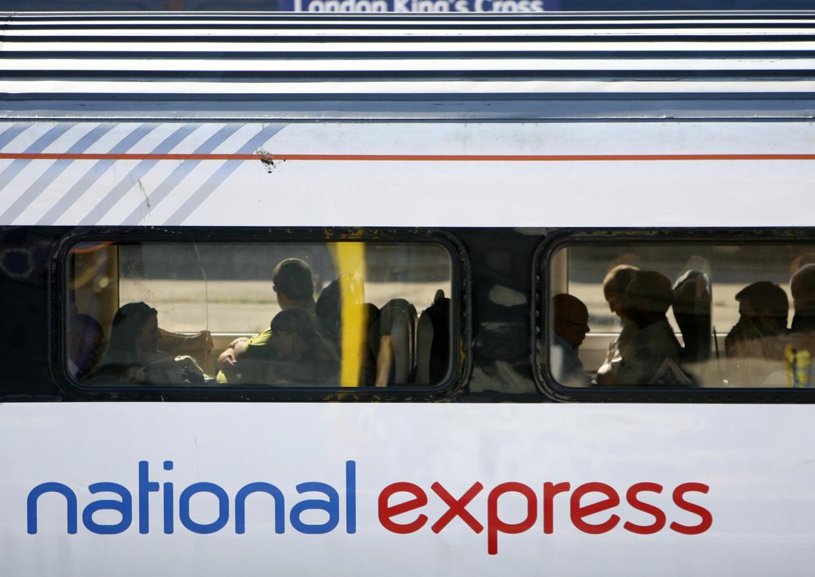 Vlak dopravce National Express