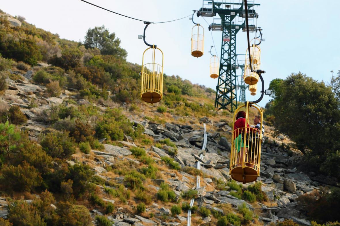 Lanová dráha na Monte Cappane