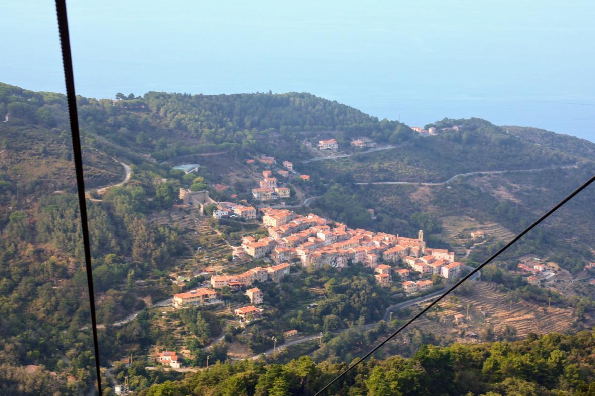 Výhled z Monte Cappane