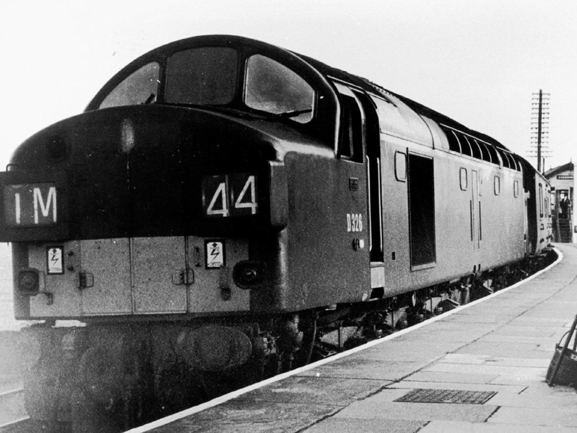 Britská dieselová lokomotiva