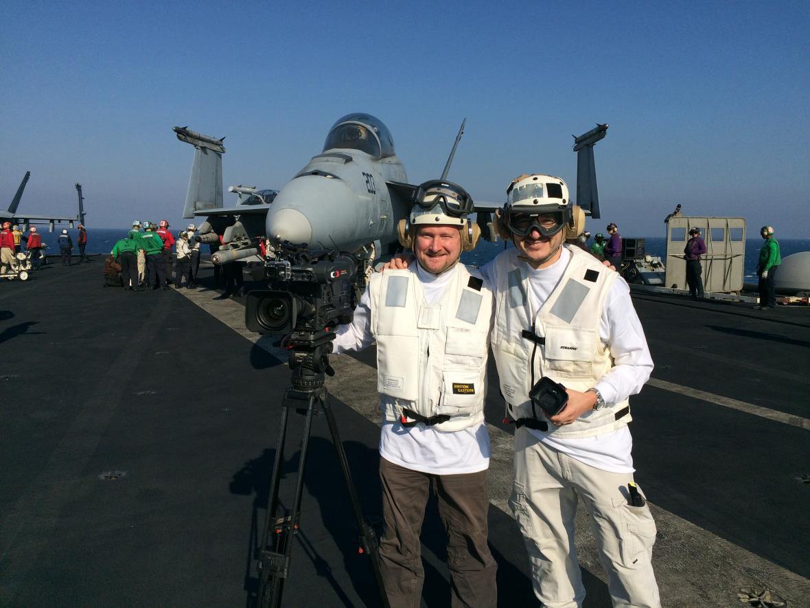 Americká letadlová loď Harry S. Truman za války proti Islámskému státu, únor 2016, Perský záliv