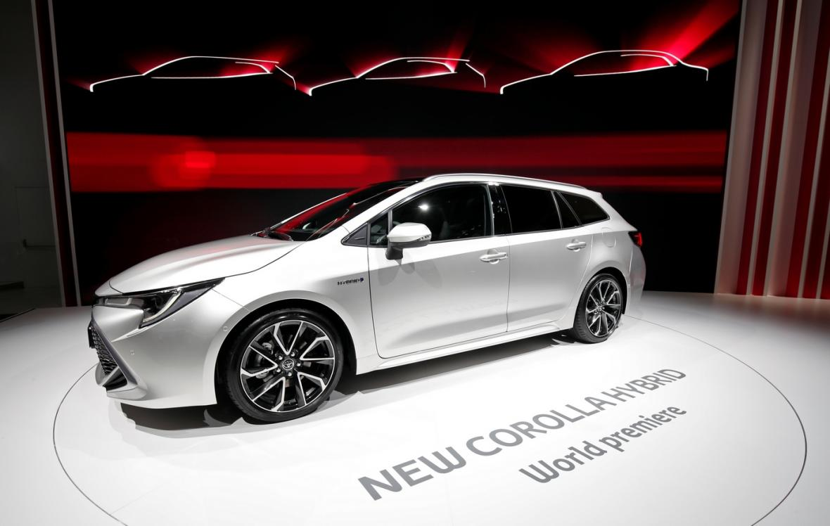 Nový hybrid Toyota Corolla.