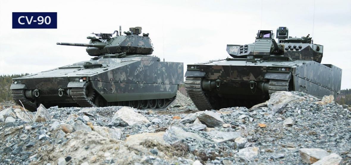 Bojové vozidlo pěchoty CV-90
