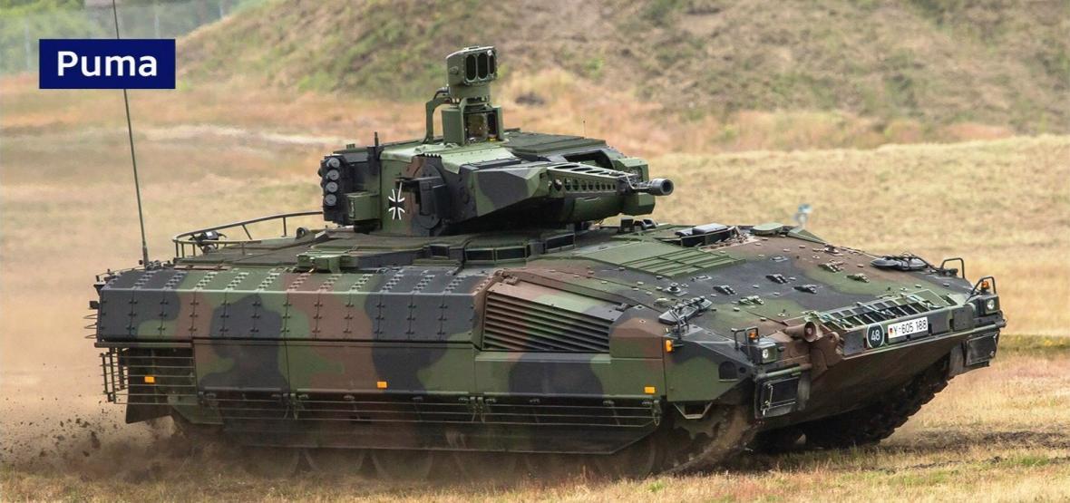 Bojové vozidlo pěchoty Puma