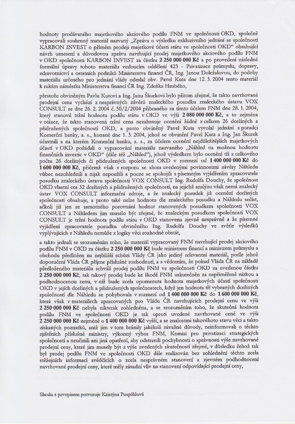 Rozsudek v kauze OKD – strana 4