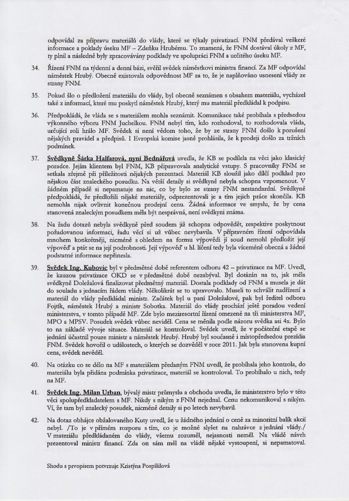 Rozsudek v kauze OKD – strana 10