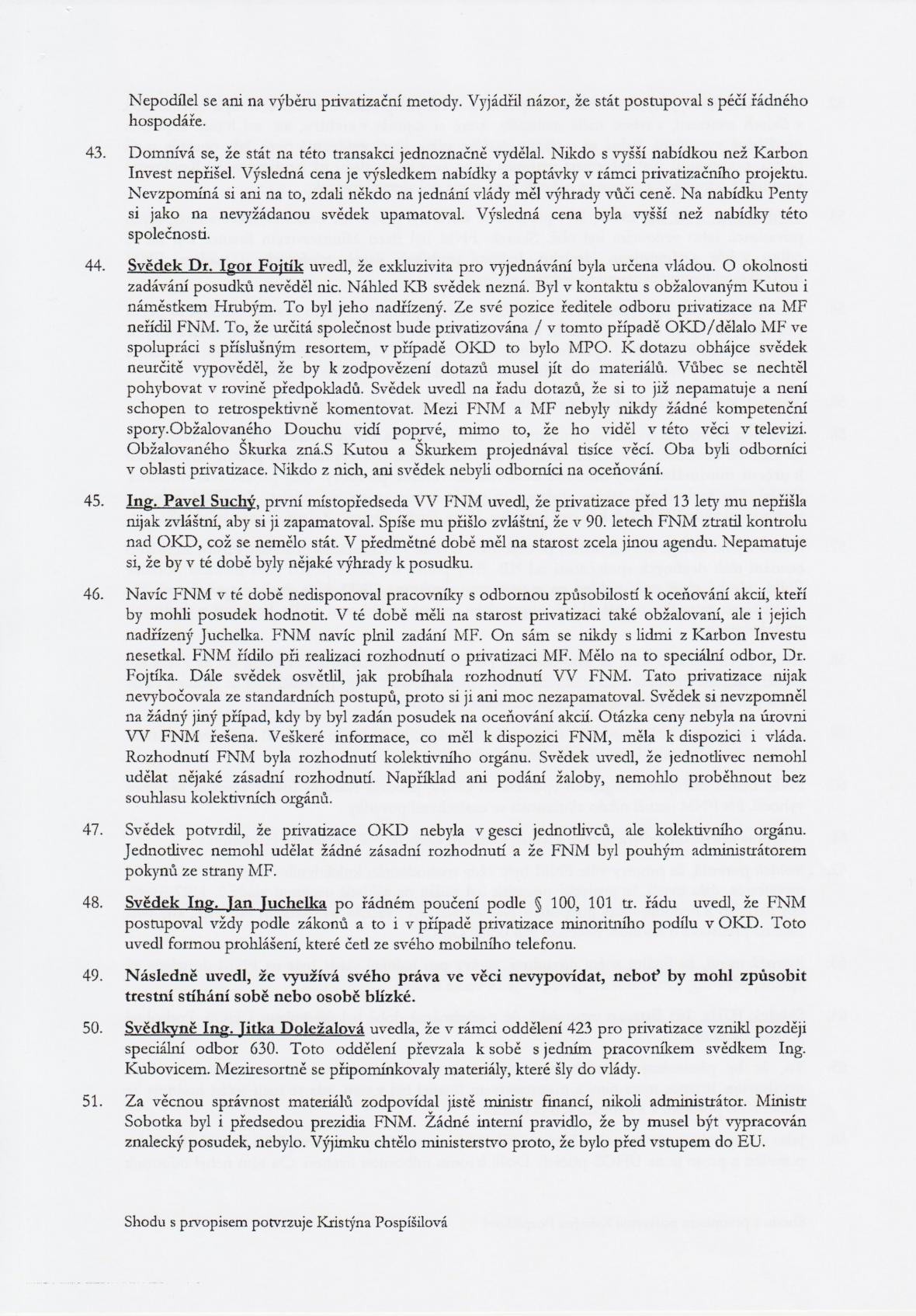 Rozsudek v kauze OKD – strana 11