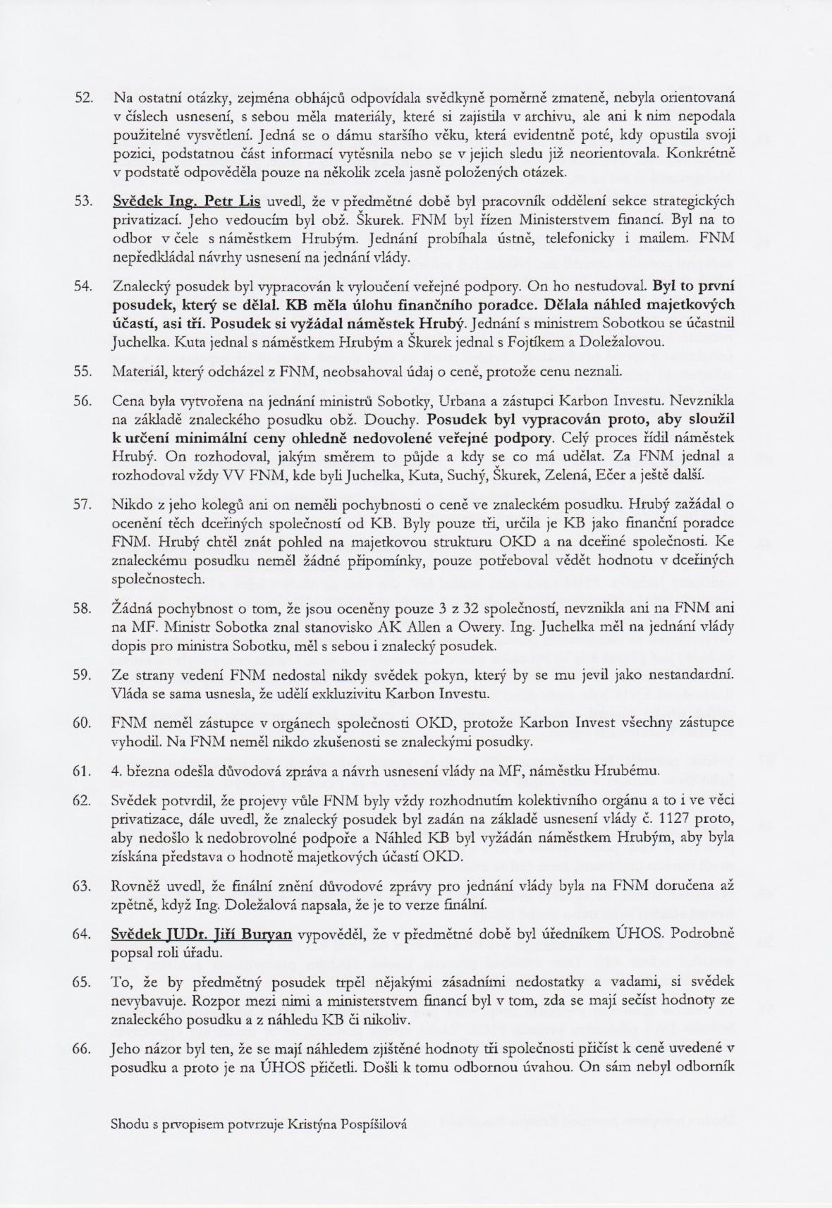 Rozsudek v kauze OKD – strana 12