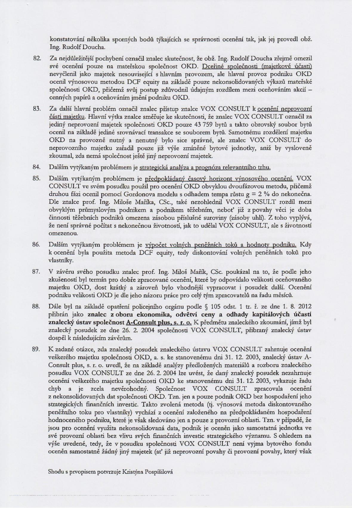 Rozsudek v kauze OKD – strana 15