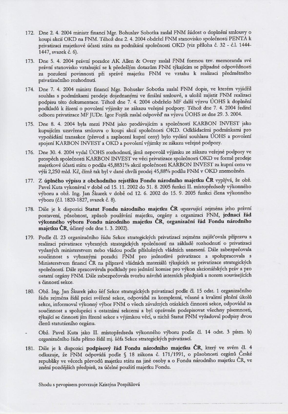 Rozsudek v kauze OKD – strana 24