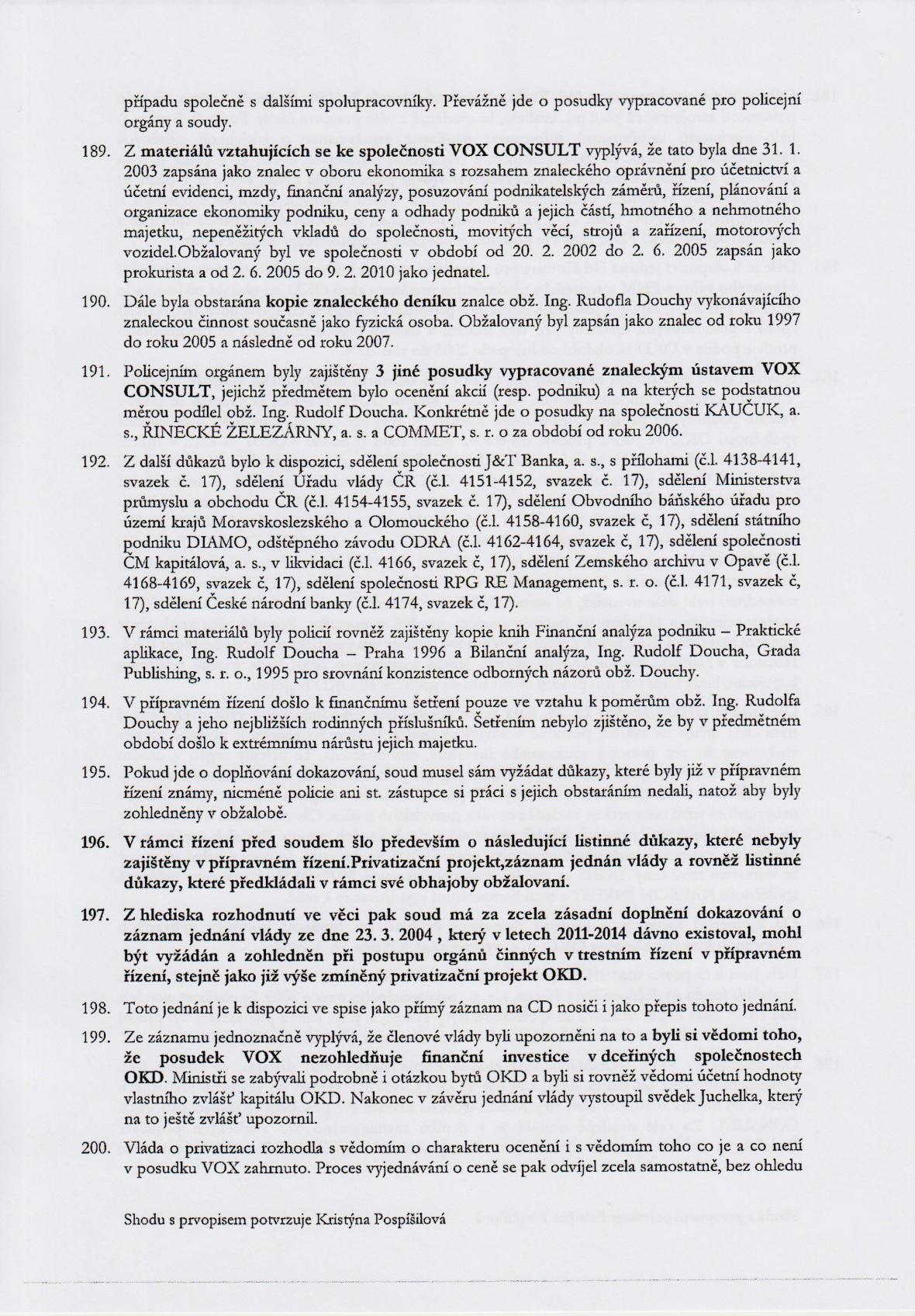 Rozsudek v kauze OKD – strana 26