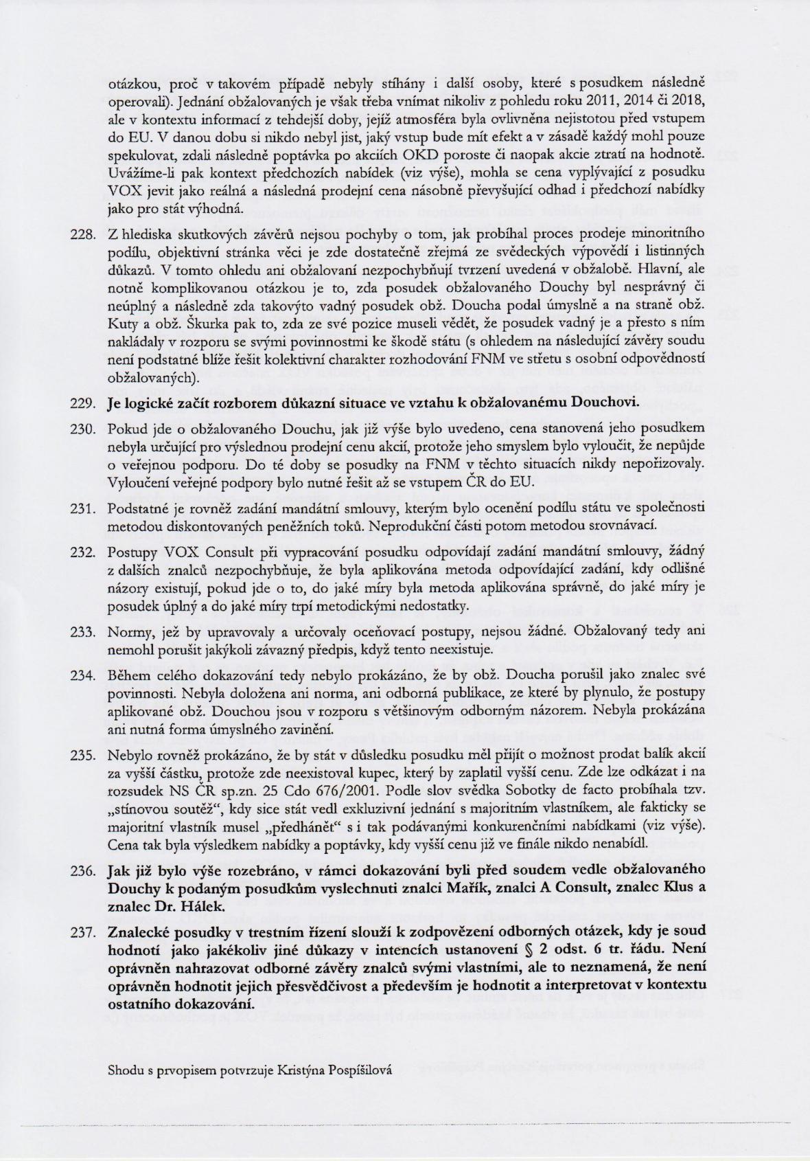 Rozsudek v kauze OKD – strana 30